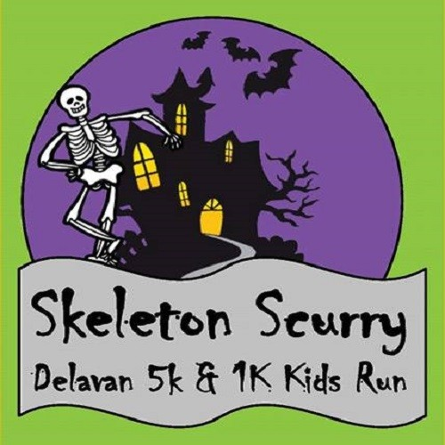 Skeleton Scurry 5K/1K Fun Run-October 21, 2017