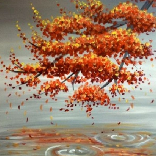 Colorful Fall Painting-Oct. 15