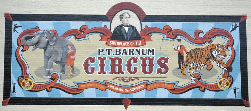 4 Birthplace Of The P.T. Barnum Circus